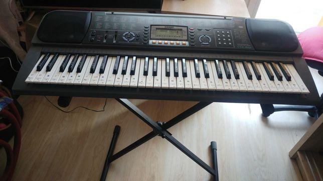 Okazja !!! Keyboard Casio CTK-601 + Stojak Zasilacz Stan BDB Tanio !!!