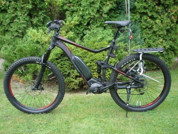 E-bike rower elektryczny Merida silnik Shimano mały przebieg jak nowy