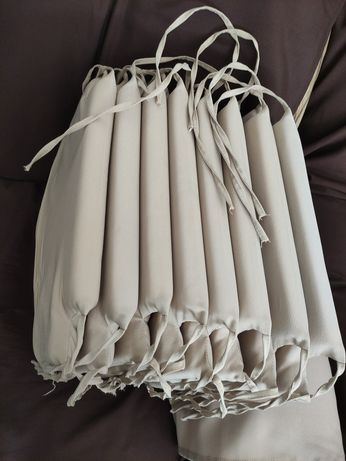 8 Almofadas de cadeira