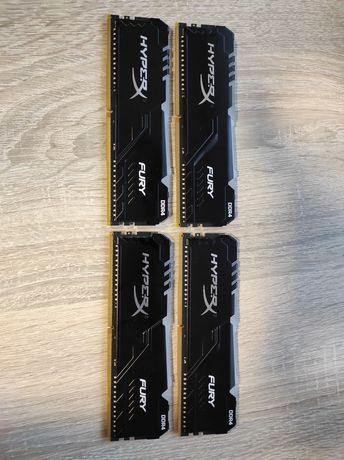 HyperX 16GB (4x8GB) 3200MHz CL16 Fury RGB