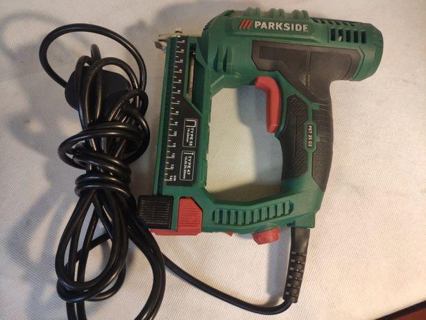 Zszywacz elektryczny Parkside PET 25 C2; Lombard Jasło Igielna