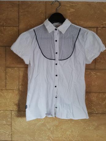 Koszula idealna do stroju apelowego, galowego do szkoły