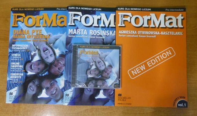 ForMat vol.1, Pre-intermediate - Teachers Book+podręcznik+ćwiczenia+CD