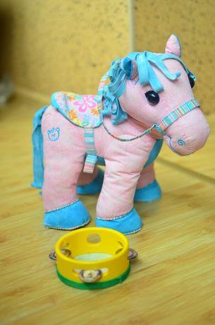 Продам дитячі іграшки розовий поні і бубон