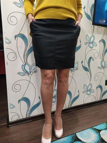Новая юбка из экокожи ONLY