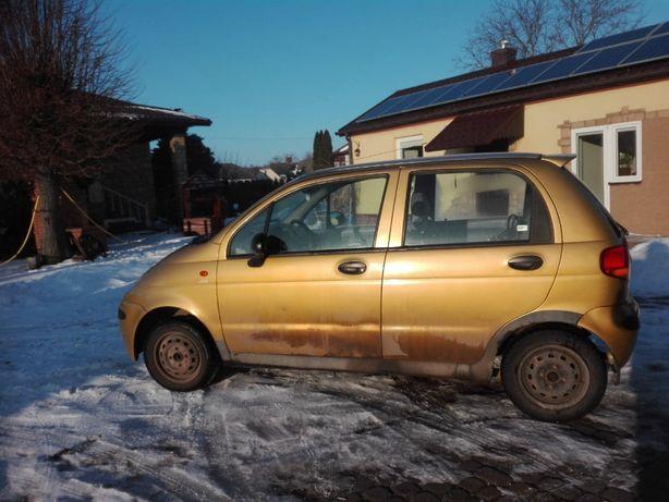 Sprzedam samochód osobowy Daewoo Matiz