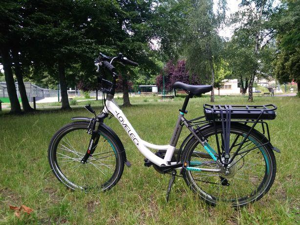 Rower elektryczny lovelec polaris 13 Ah przebieg 50km jak nowy