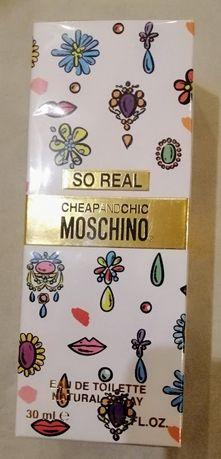 Новая парфюмированная вода Moschino So Real, 30ml. Италия.
