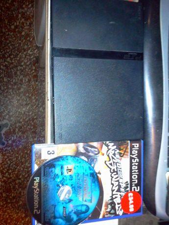 Продам или обменяю Sony Playstation 2 Slim (model no ; SCPH-75003)