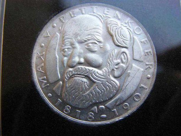 5 марок 1968 D. ФРГ. Серебро.