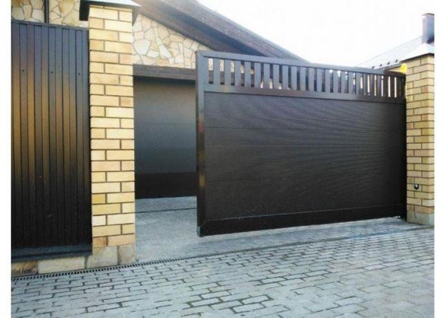 Ремонт ворот секционных, откатных, распашных и шлагбаумов