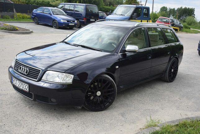 Audi A6 C5 Quattro,Lift,LPG 2002r 2.7 BiTurbo 250Km, Xenon, Recaro