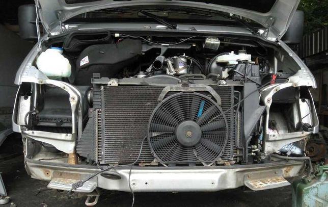 Радиатор Интеркулер дифузор Mercedes Sprinter 903 2.2 cdi Разборка