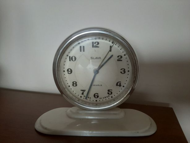 Zegarek budzik  - SLAVA , - Nie sprawny.