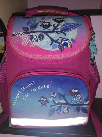 Школьный ортопедический рюкзак Kite Совушки девочке 1 - 2 -3 класс б/у