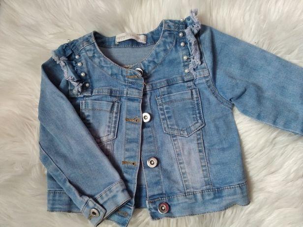 Piękna kurteczka jeansowa