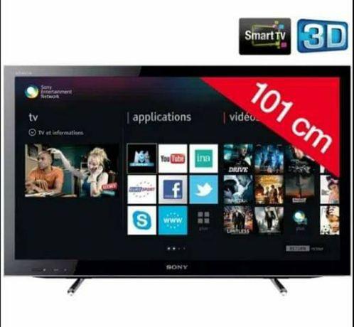 "Smart TV SONY Bravia 3D 40"" 101cm"