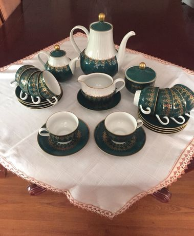 Чайный сервиз( Германия), фарфор, 10 персон