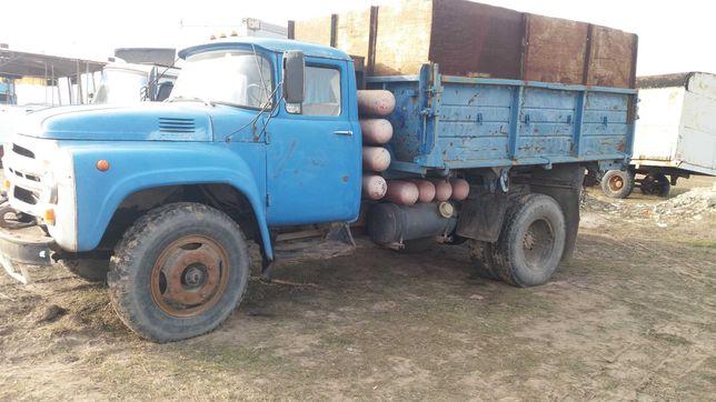Зил 130 Ммз 554 самосвал колхозник  газ-бензин