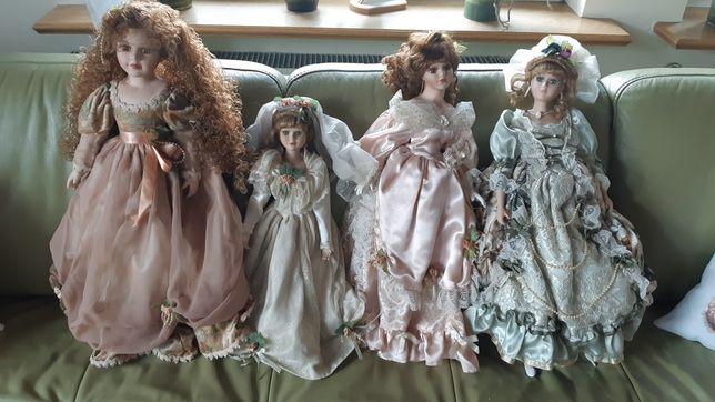 Lalki porcelanowe kolekcjonerskie komplet