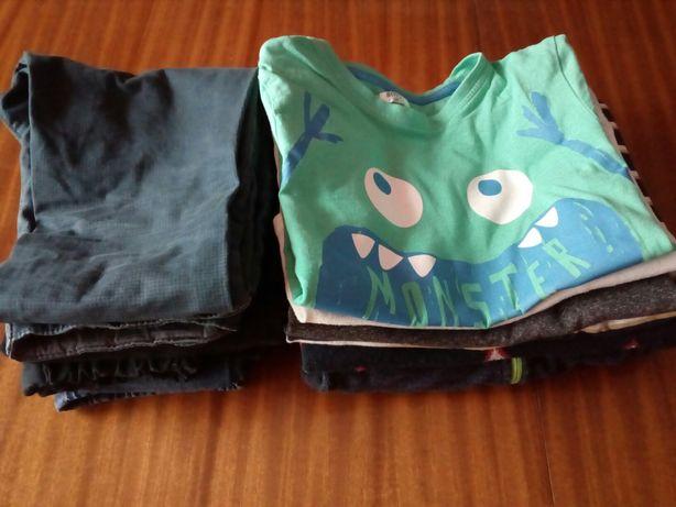 Ubranka dla chłopców, 128 +, bluza, sweter, spodnie, bluzki