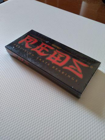 Skate Rolamentos Bones Originais : Bones Reds, novos e selados.
