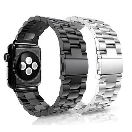 Bracelete/ pulseira de aço p/ Apple Watch (todos modelos) 42 mm/ 44mm