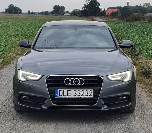 Audi A5 2.0 tdi 177koni 2xS-line LEDY, ksenon, Automat ,Nawigacja