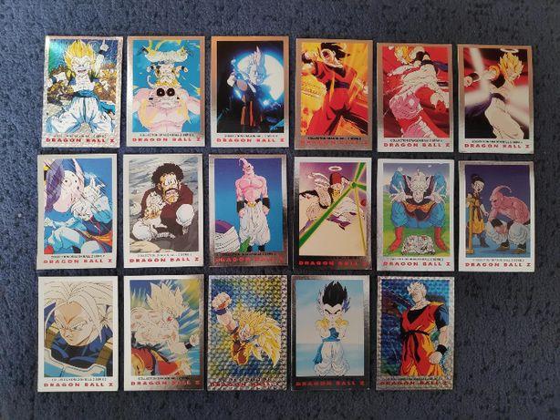 Cartas Dragon Ball Z - Séries 1 e 2