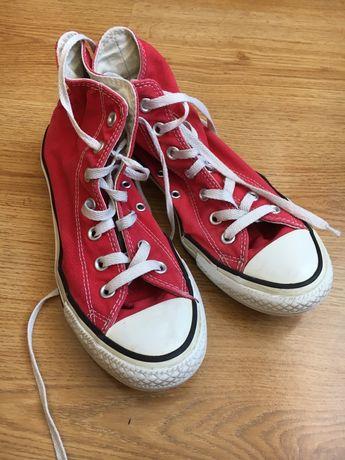 Markowe Converse czerwone