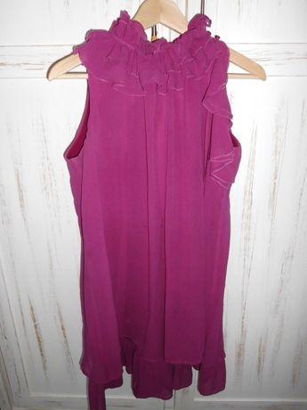 jedwabna sukienka ciążowa SOLAR rozm.38
