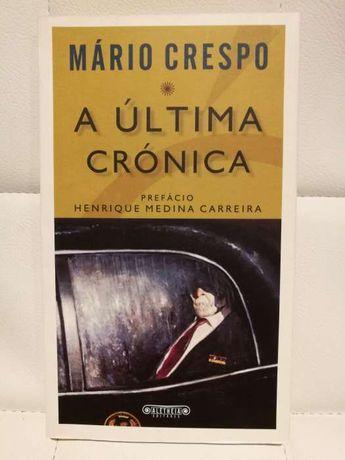 Livro A Ultima Crónica de Mário Crespo