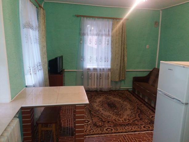 1к.кв. в ч/доме, ремонт, вся необходимая мебель, техника, Борщаговка