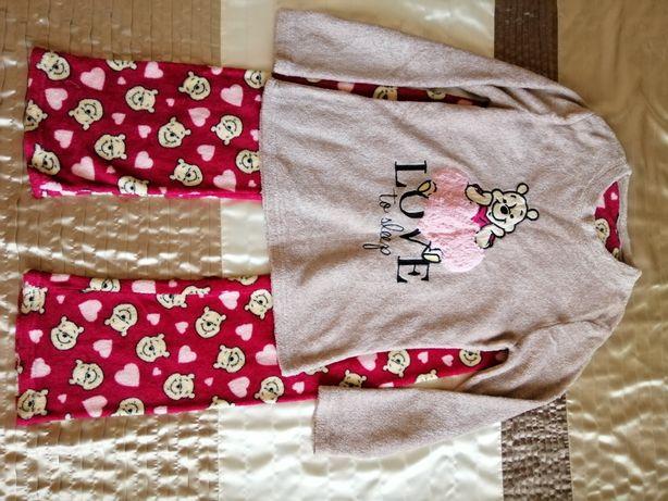 Пижама теплая для девочки на рост 152-158