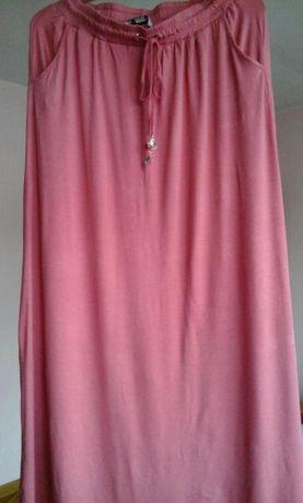 długa różowa spódnica M 38