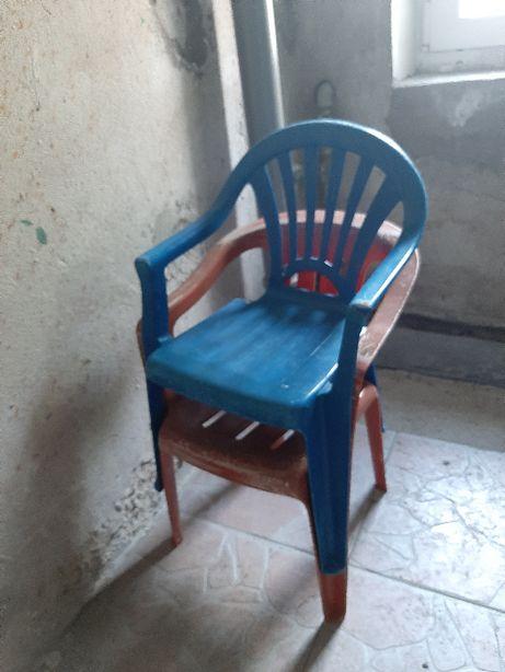 Krzesełko krzesło plastikowe ogrodowe dla dziecka dziecięce