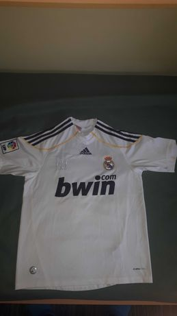 Camisola Oficial Real Madrid + fitas Benfica