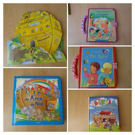 Livros sobre a biblia para crianças