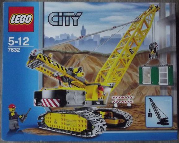 Mega zestaw LEGO 7632 - dźwig budowlany - kompletny