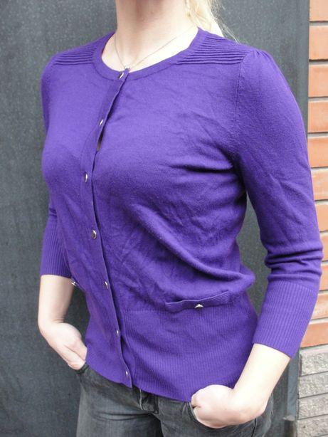Кофтинка на гудзиках кофта жіноча фіолетова кофта