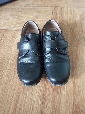 Туфли кожаные для мальчика 28 р.