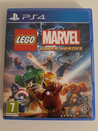 LEGO Marvel Super Heroes gra na PS 4 j. nowa!