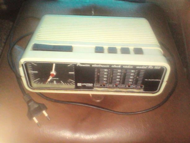 radio budzik z prl unitra