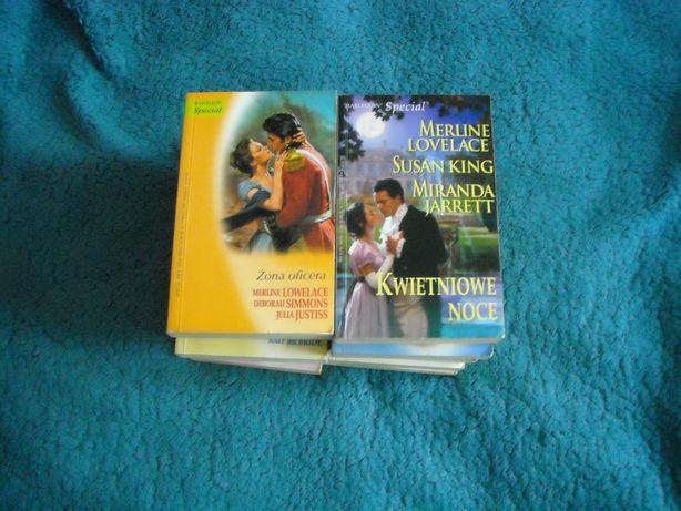 Harlequin Specjal -romanse historyczne różne tytuły