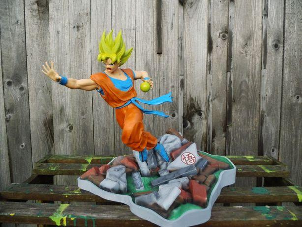 Goku Dragon Ball Figurka 3D 35cm