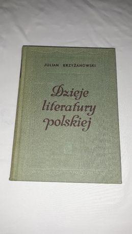 Dzieje literatury polskiej J. Krzyżanowski