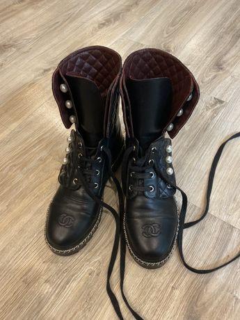 Ботинки chanel,balmain,prada