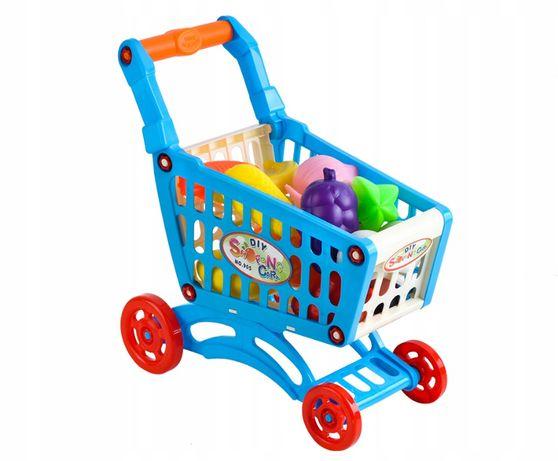 Wózek Sklepowy na Zakupy Koszyk do Supermarketu