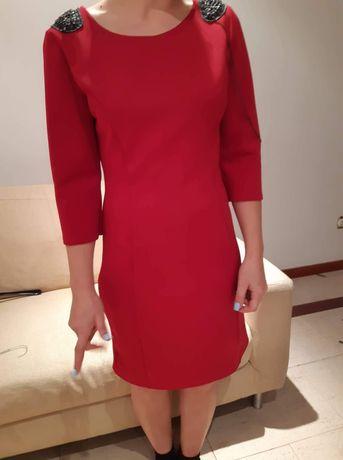 Vestido vermelho, tamanho s