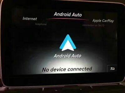 Mercedes Carplay aktywacja Android auto W176 W117 W156 W166 CLA A GLA